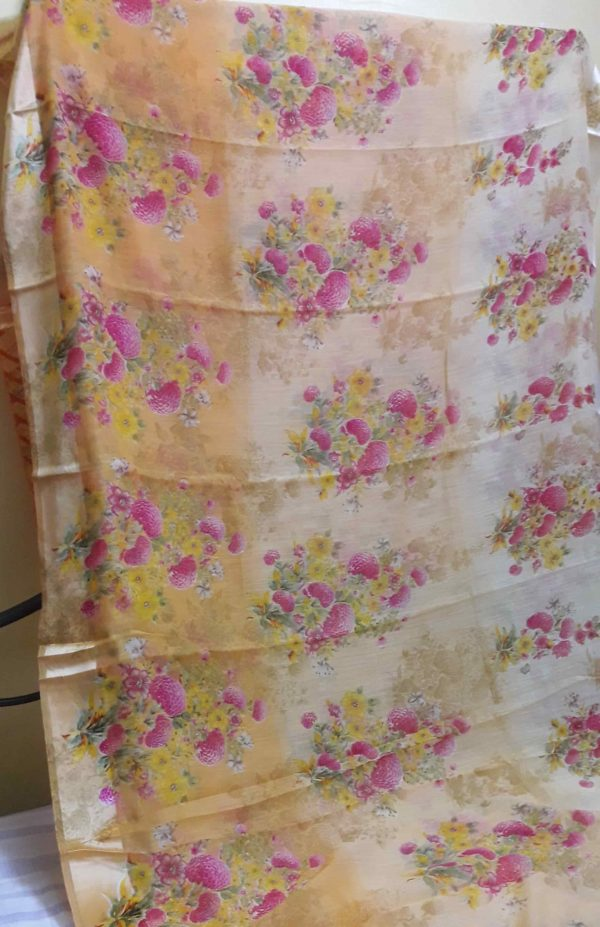 Digital-printed-linen-saree-patel-peach-floral3-min