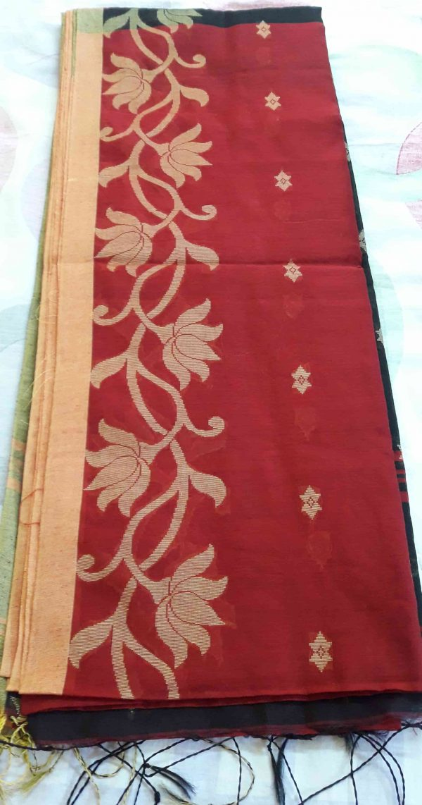 handloom-jamdani-black-red1-min