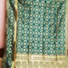 Sea Green opara silk saree