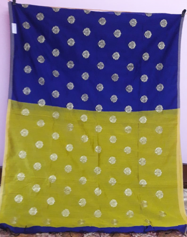 blue-lime-yellow-saree-1